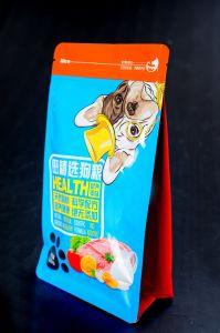 Stand up Pet Food Sac de package avec fermeture à glissière