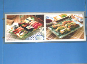 Menu del ristorante LED Billboard Advertising Light Box (CDH03-A3Lx2-01)