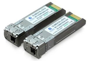 10GB/S SFP+ Transceptor Óptico Fibra bidireccional, chegar a 10km-80km, 1270nm/1330 nm