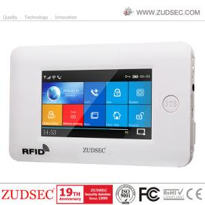 Smart Touch sans fil WiFi cambrioleur de sécurité à domicile avec l'APP de contrôle d'alarme GSM