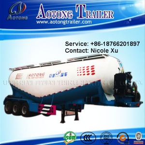 3 Eixo 29.6-30.5t Tanque de cimento a granel de baixa densidade Semi Carreta (45m³) (LAT9405GFL)