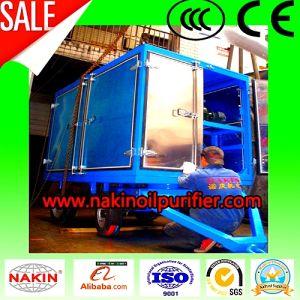 Tráiler cerrado de filtración de aceite del transformador de vacío, el aceite de la planta depuradora de la máquina