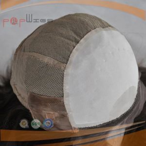 ヨーロッパのバージンの毛の絹の上のかつら(PPG-l-0903)