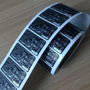 Пустой пользовательские высокого качества печати на наклейке