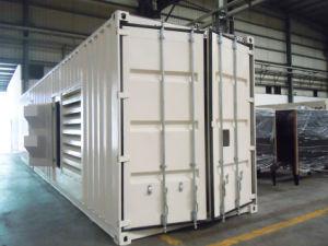 Contenedores de 1250 kVA insonorizado generador diesel Perkins de 1 MW