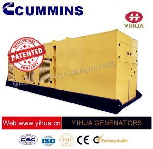 Generatore silenzioso di potere 620-1250kw 60Hz Cummins di perfezione del baldacchino del contenitore di Ccec [IC180207a']
