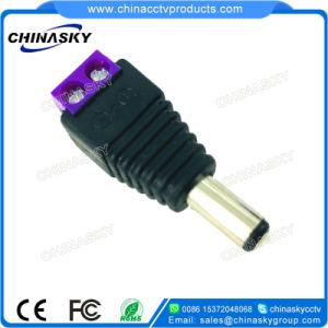 Connettore di corrente continua del CCTV con il terminale di vite viola (PC102PP)