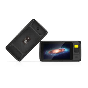 TabletteAndroid des Biometrie-Fingerabdruck-NFC