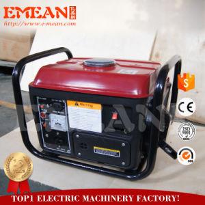 800W monofásico pequeño grupo electrógeno gasolina