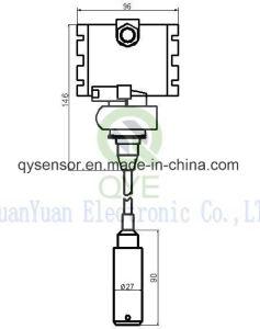 Submersíveis IP68 Sensor de nível de líquido com visor