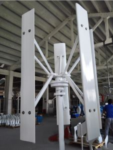 gerador de turbina vertical do vento de 1kw 48V Vawt Maglev