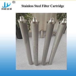 Malla de acero inoxidable cartucho de filtro sinterizado