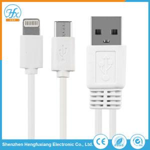 1つの携帯電話USBデータ充満ケーブルに付き2つ