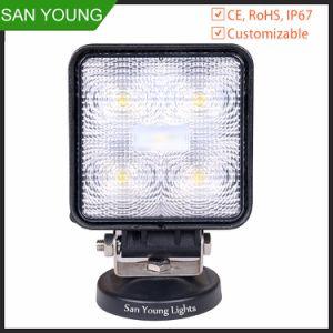 15W DEL outre de la lumière 10-30V de route pour les lumières pilotantes d'ATV SUV 4WD 4X4 DEL