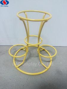 간단한 디자인된 작은 금속 진열대 간식 간식 테이블 상단 전시 선반