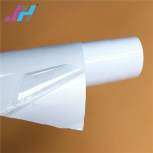 Vinil auto-adesivo transparente de material de impressão
