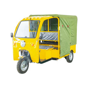 Tricycle Semi-Closed passager /Richshaw /Tricycle électrique/ Richshaw Taxi Taxi