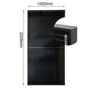 Usine directement Hot Sale 390W 400W mono Perc PV panneau solaire photovoltaïque noir