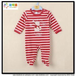 아기 장난꾸러기를 인쇄하는 대중적인 디자인 아기 의복 줄무늬
