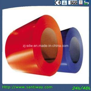 Le CRC de l'acier enduit de couleur de distributeur de la bobine de l'acier de bobine