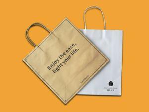 Новый дизайн пользовательских крафт-бумаги мешок, сумку для бумаги