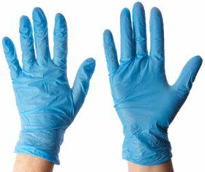 Jetables en latex de haute qualité libre gants d'examen en nitrile médicaux fabriqués en Chine