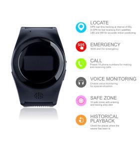 GPS Tracker personal de niños ver soporte WiFi +Lbs Ubicación GPS+R11