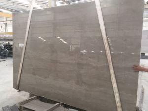 中国の磨かれたCesar灰色の木の大理石のSlabs&Tile