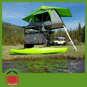 Nouveau design tente sur le toit de couleur bleue pour le camping