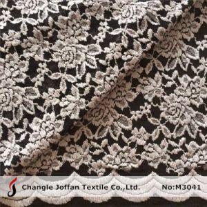 イブニング・ドレス(M3041)のための伸張の綿のレースファブリック