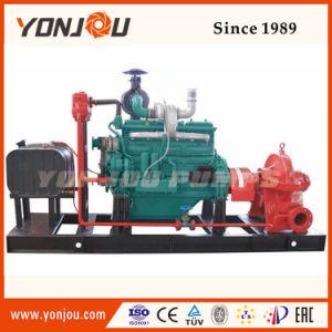 Le carburant diesel pour l'irrigation de la pompe centrifuge de remorque