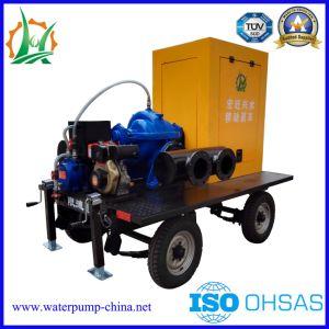 Pompa centrifuga diesel Emergency della conduttura di lotta antincendio con il rimorchio