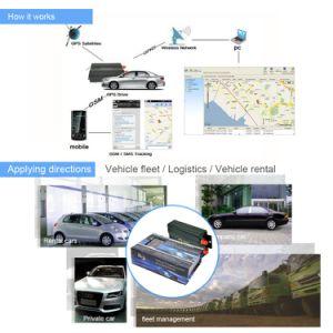 GPS Volgend Systeem Tk103ab met het Online Platform van het Web
