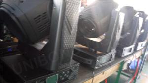350W 3 en 1 punto del haz de lavado principal móvil de la iluminación de la etapa