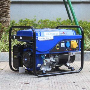Bison (Chine) BS7500p 6kw 6kVA fournisseur expérimenté en phase unique de trame ronde fil électrique de recul