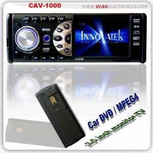 Car In-Dash DVD with 3.5 Screen (CAV-1000)
