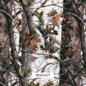 屋外のItmes (BDA192T)のための多彩な葉のCamoのハイドロフィルム