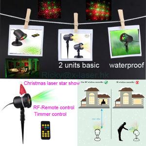 Sternenklarer Laserlicht Projektor, Im Freien Wasserdichte Laser Lampe Für  Garten/Familien