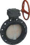 Válvula de Mariposa /Válvulas de Plástico/PVC/válvula de Mariposa de Termoplástico 150psi