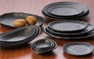 100 % de la mélamine de la vaisselle/tapis de mélamine fini de la plaque (IWW13705-08)
