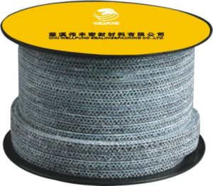 Волокна Carbonized пропитанных упаковки оплеткой из политетрафторэтилена (BP2100)