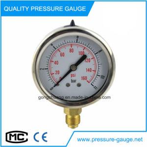 63mm glicerina llena el manómetro manómetro.