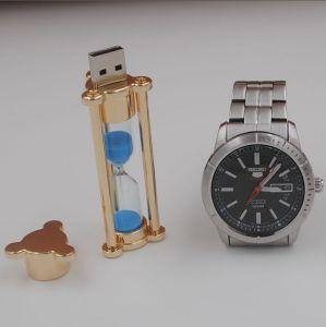 砂時計USBの棒、4GBへの64GB、パソコン、ノートおよびスマートな電話との互換性がある