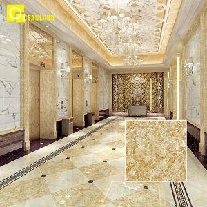 Kijkt het Gele Marmer van de Leveranciers van Foshan de Antislip Verglaasde Tegel van het Porselein