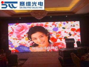 Alta frecuencia de refresco de pantalla grande P3.91 Pantalla LED de exterior para la boda de la junta