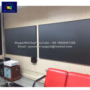 Xy Ecran de projection 4K Haut de la lumière ambiante rejetant TÉU Écran de projection avec le Pet tissu noir