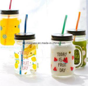 Glasbecher mit Firmenzeichen-Drucken zu trinkendem Zweck