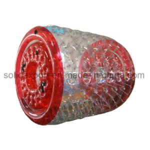Transparente de PVC inflable gigante Rodillo flotante Aqua Zorbing Ball Globo de a pie de agua
