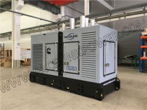 350kVA 세륨 ISO를 가진 Cummis에 의하여 강화되는 매우 침묵하는 디젤 엔진 발전기 세트