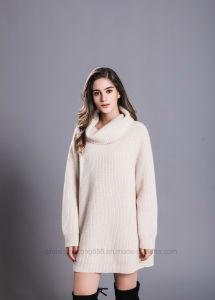 Comercio al por mayor ropa de última moda mujer Señoras Invierno Lana  Cashmere Sweater Casual 1bb5c2b31999